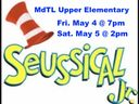Fri. 5/4 & Sat. 5/5: Seussical JR!  performed by Upper Elementary *Sold Out*